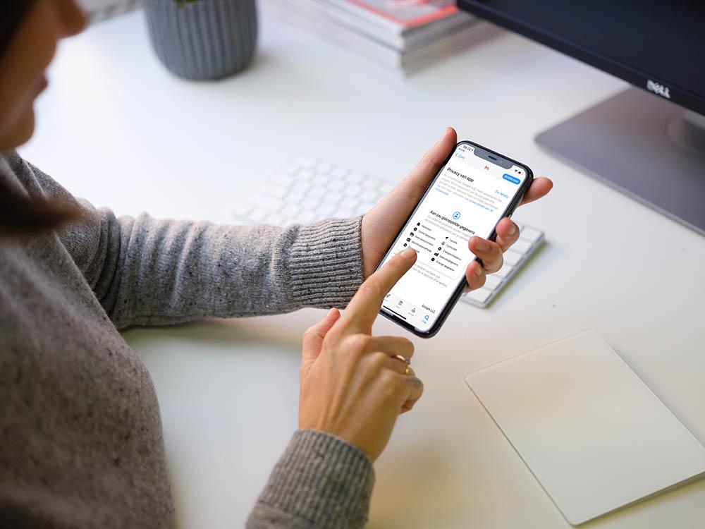Gmail-app nu met privacylabel