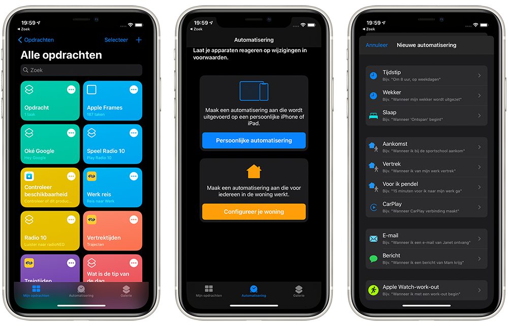 Apple Watch automatisch muten op locatie