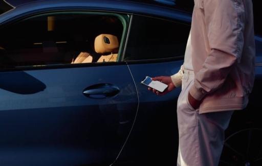 Apple CarKey instellen.
