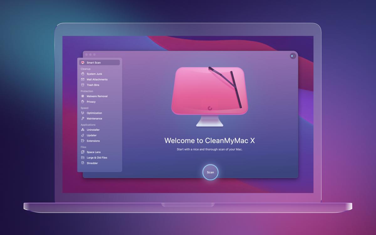 CleanMyMac X nieuw design