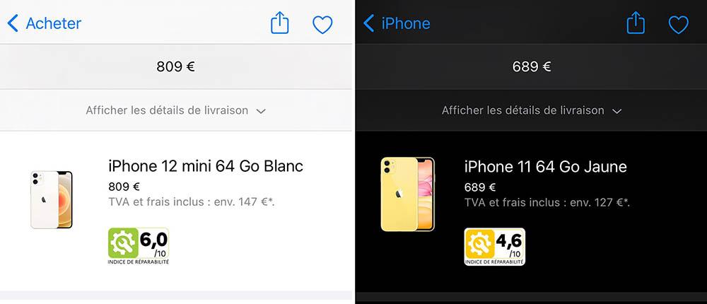 iPhone en Mac reparatiescore Frankrijk