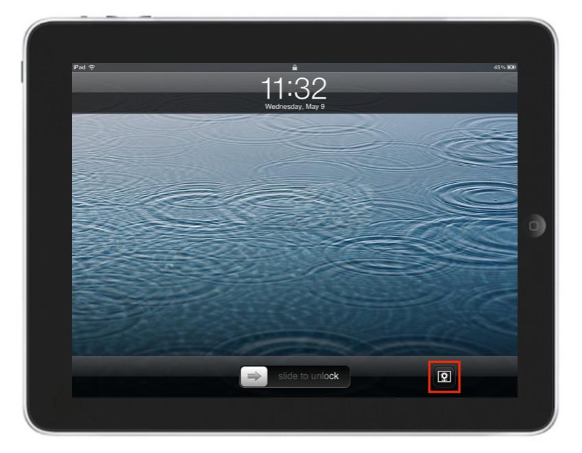 iPad fotolijst gebruiken.