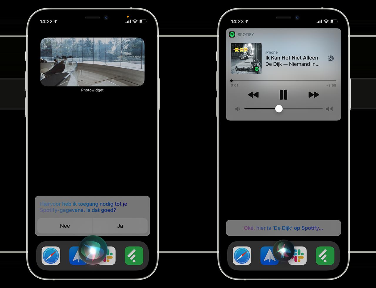 Siri muziek afspelen met Spotify