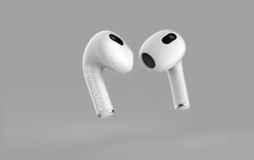 Gizmochina AirPods 3 render