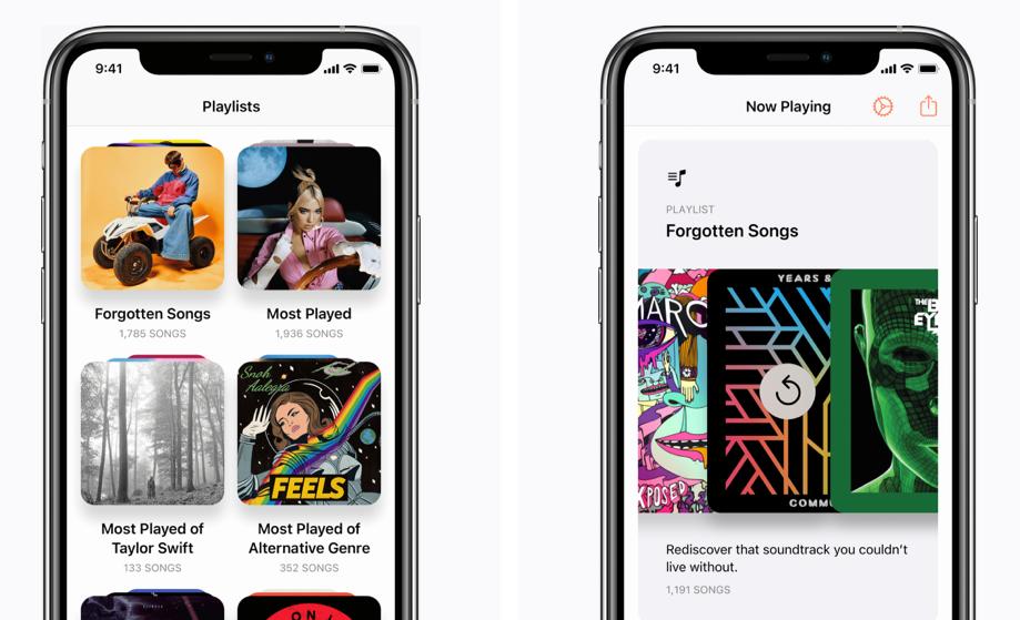 Next-app voor Apple Music.