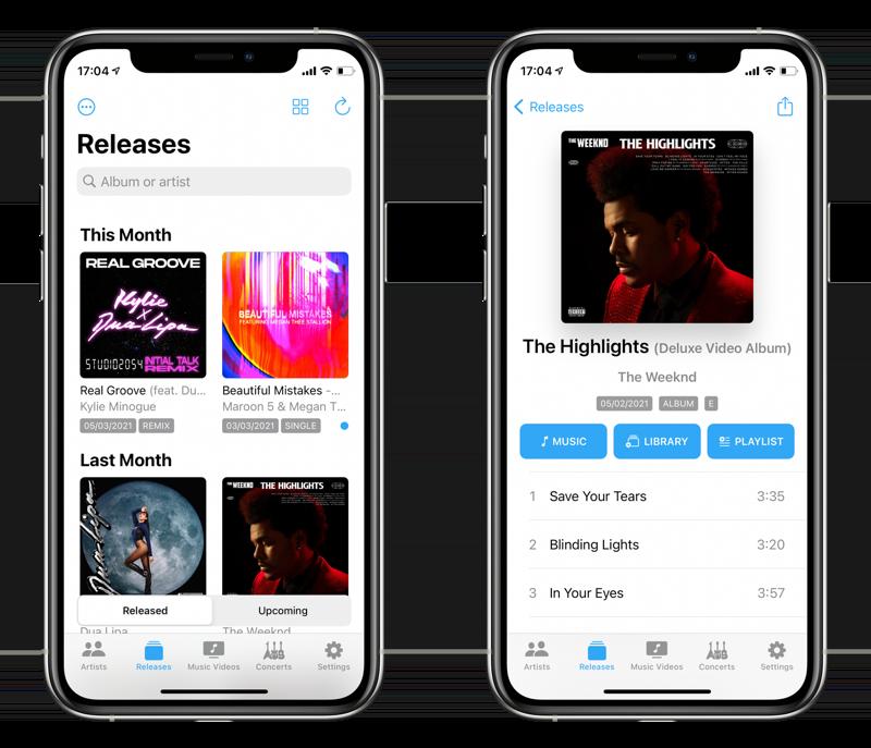MusicHarbor app.