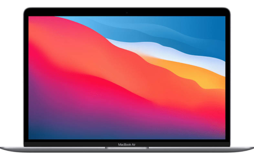 Apple MacBook Air 2020 klein
