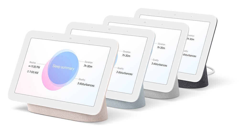 Google Nest Hub 2 kleuren