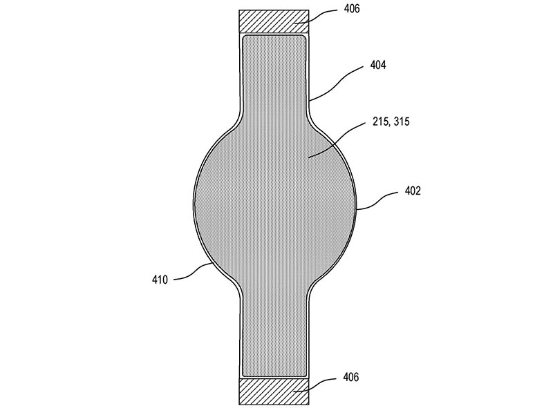 Apple Watch flexibel scherm