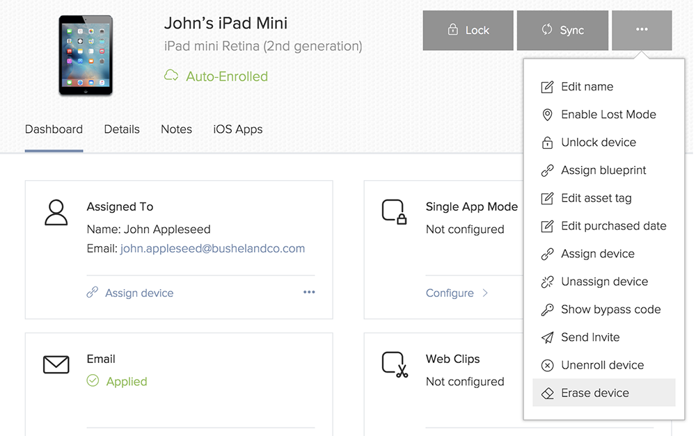 Jamf Now iPad wissen