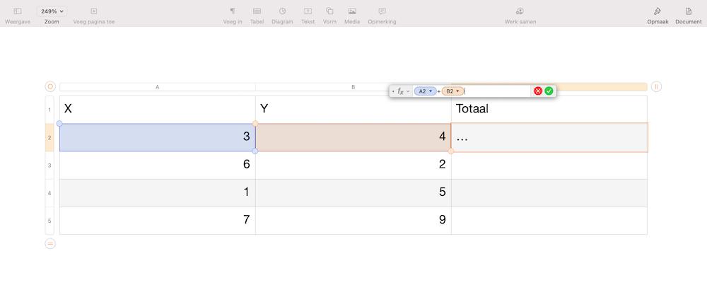 functie-tabel-pages-mac