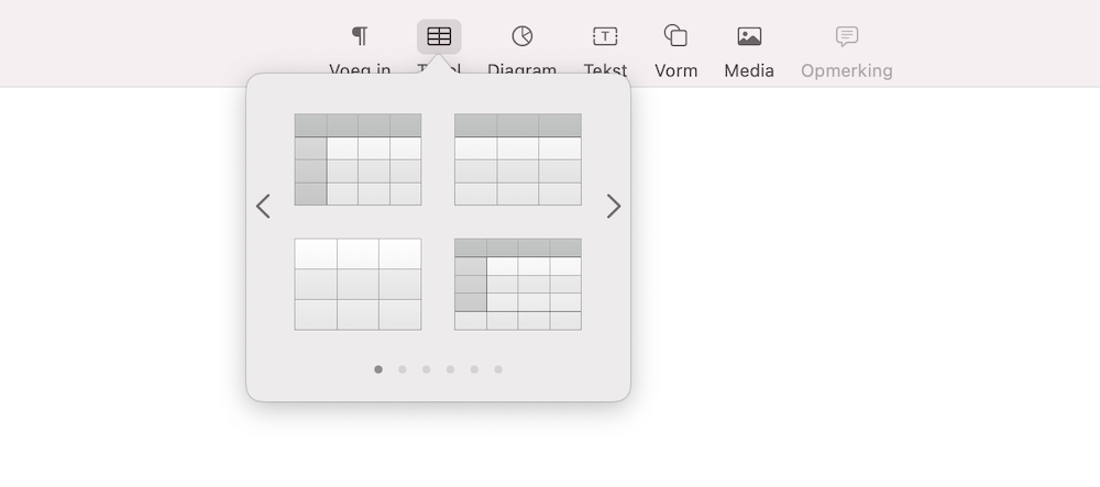 tabel-kiezen-mac-pages