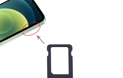 Simkaartslot iPhone