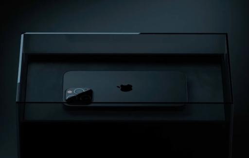 Matzwarte iPhone 13 Pro volgens geruchten.