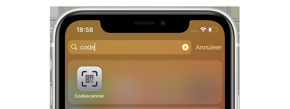 Codescanner-app