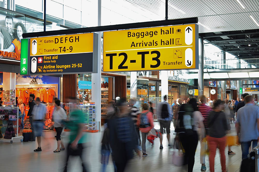 Schiphol info COVID-19