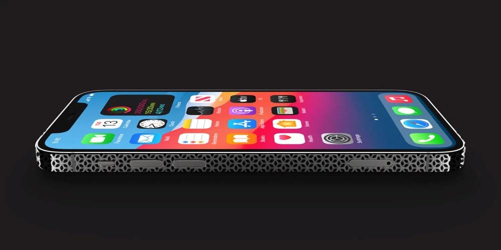 iPhone kaasrasp design aan de zijkant.