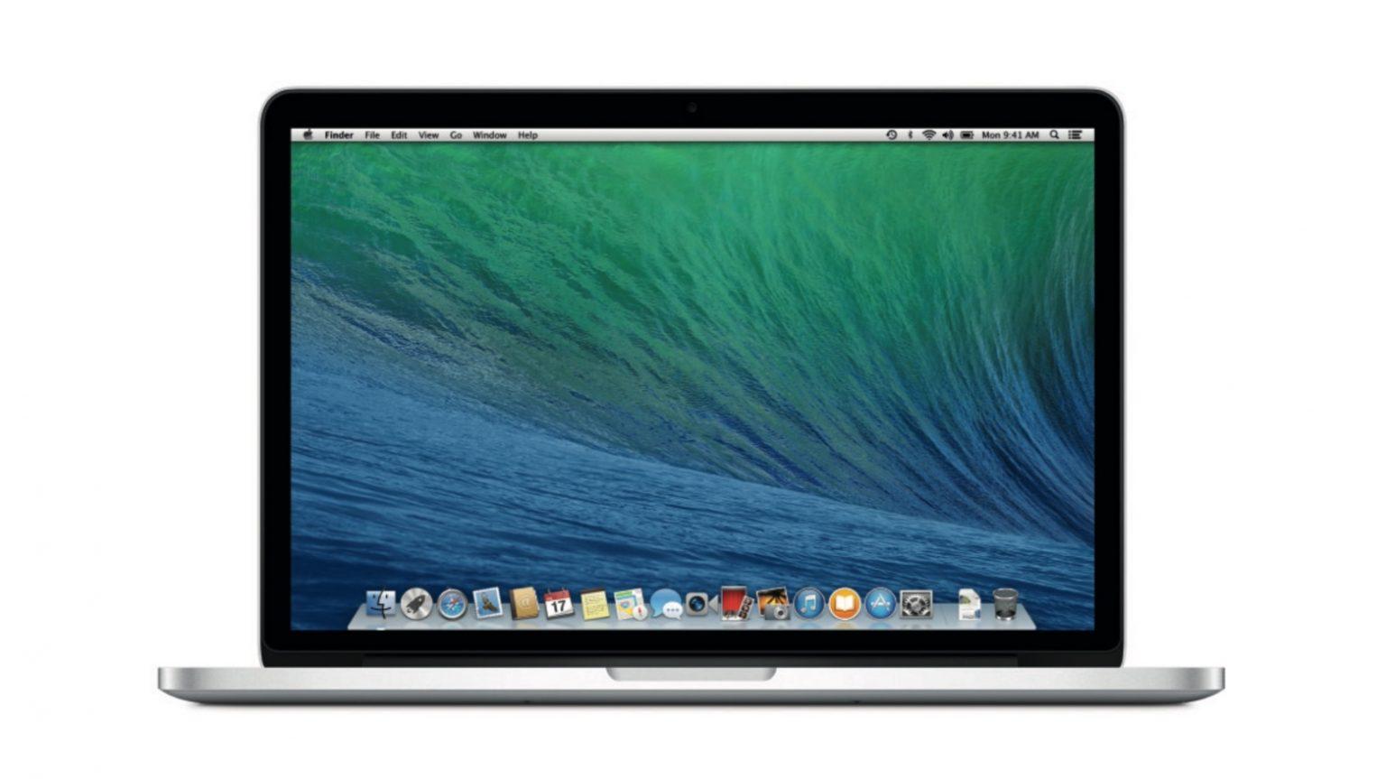 MacBook Pro eind 2012