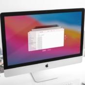 iMac met macOS Big Sur: Time Machine activeren.