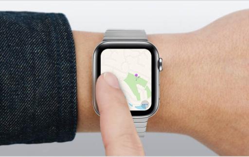 Apple Watch slepen