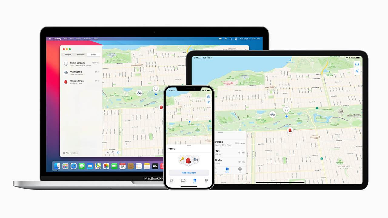 Apple Find My-netwerk