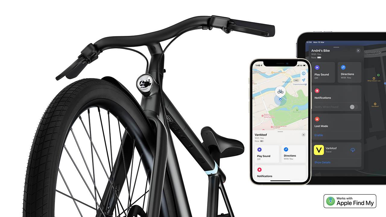 VanMoof ebike: zoek mijn fiets