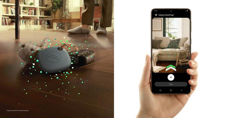 Galaxy SmartTag+ met AR-functie