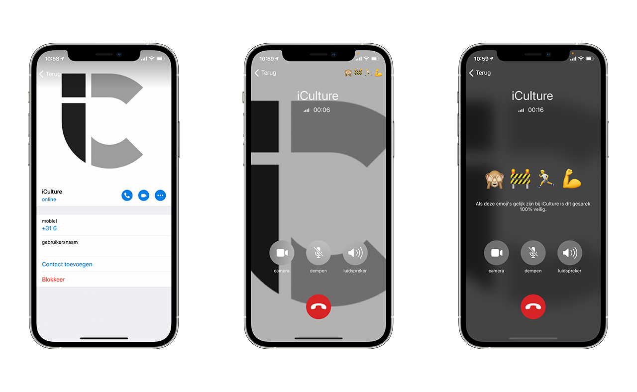 CallKit in de Telegram-app