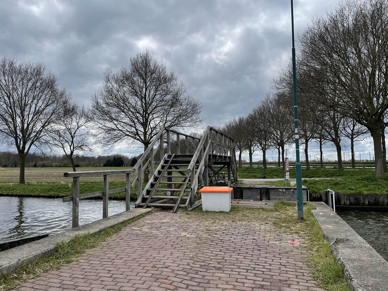 Brug onderweg naar Breukelen