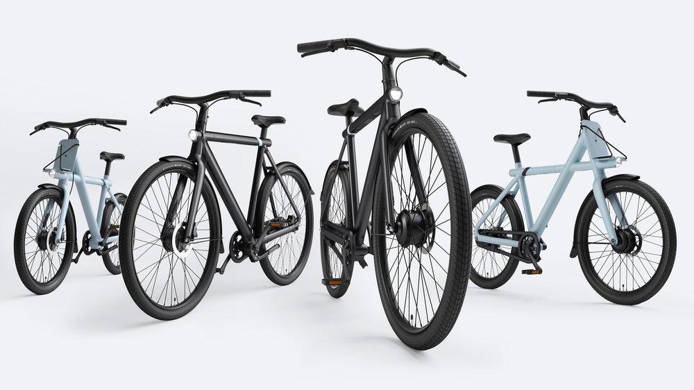 VanMoof S3 en X3 modellen