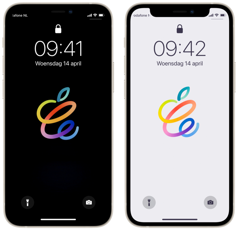 iPhone april 2021-event wallpapers.