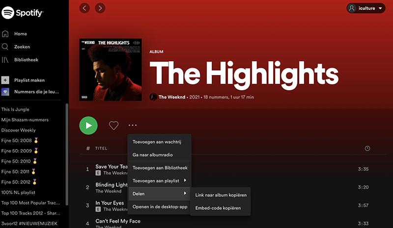 Spotify Code maken