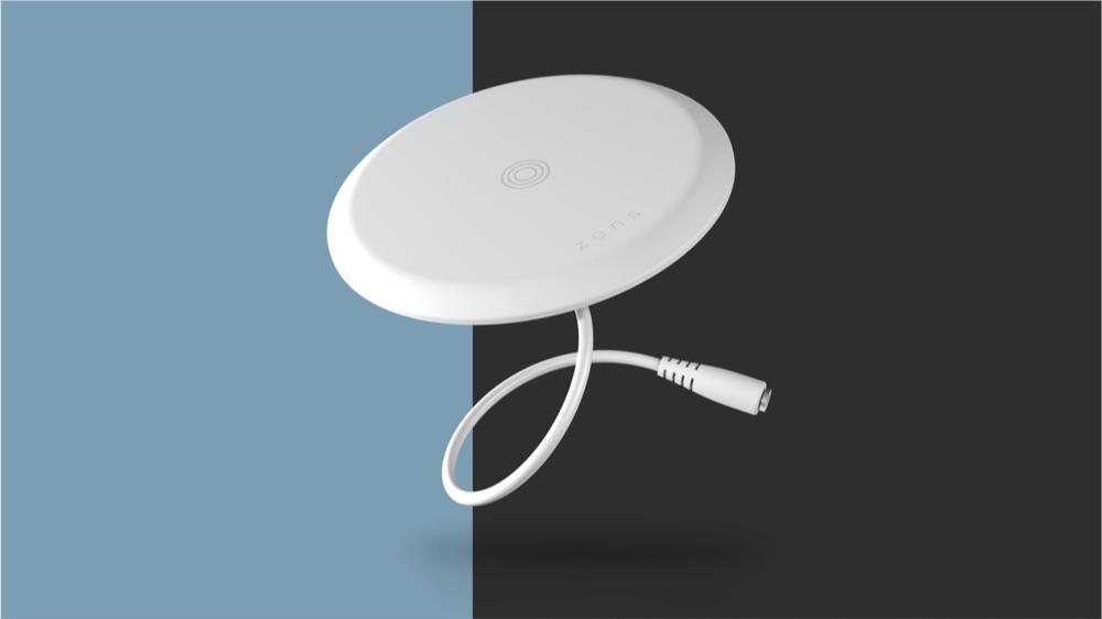 Zens Built-in Wireless Charger met kabeltje.