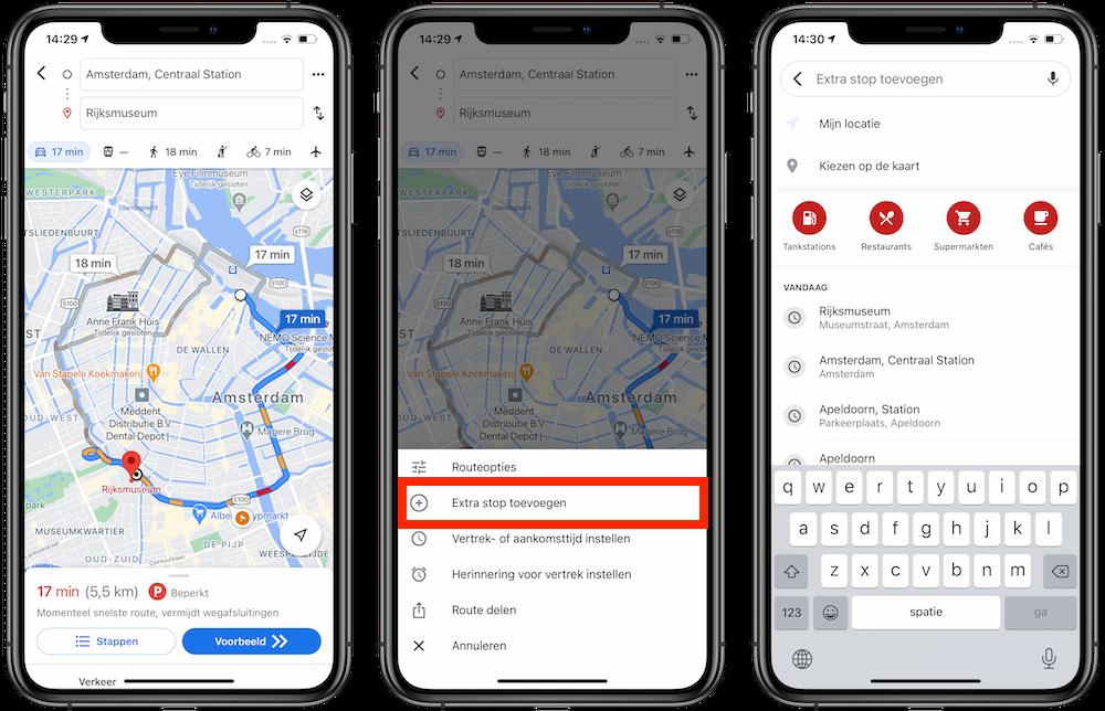 google-maps-tussenstop