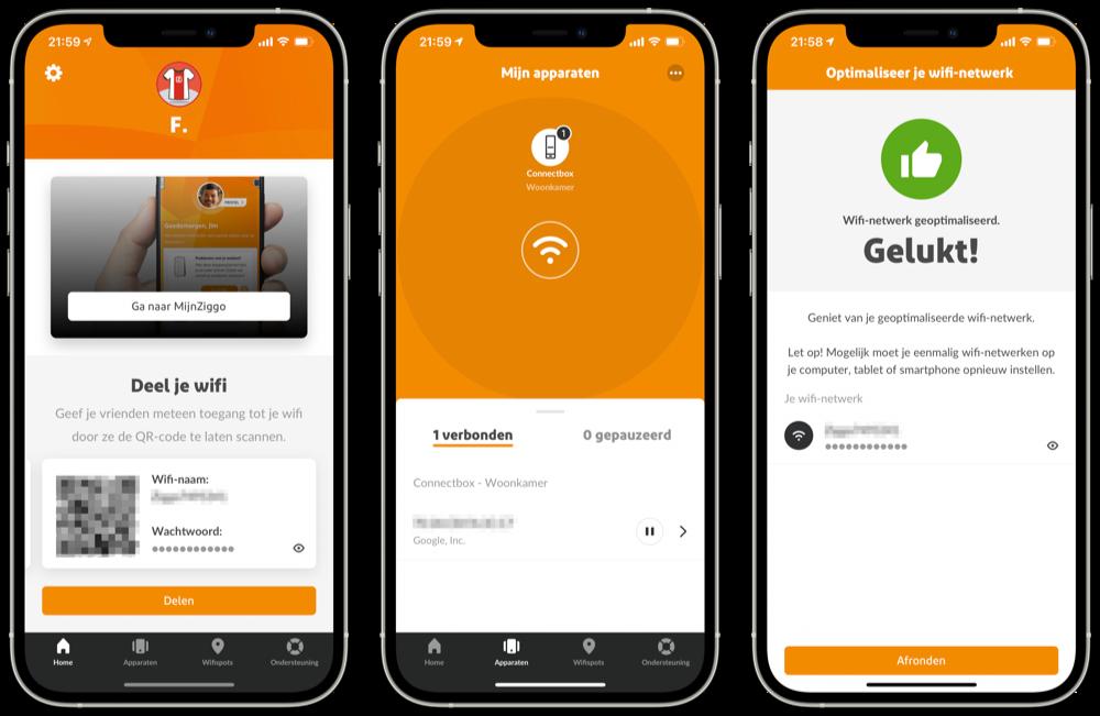 Ziggo SmartWifi app