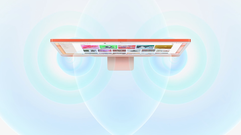 iMac 2021 Spatial Audio