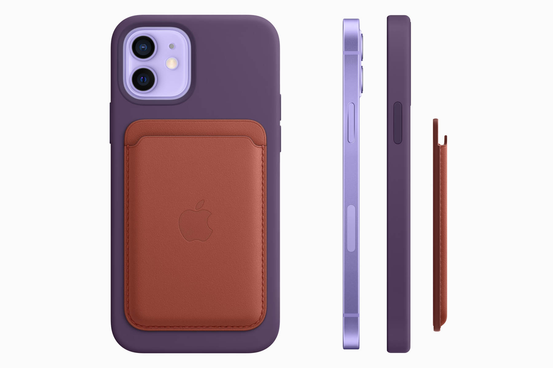 iPhone 12 paars