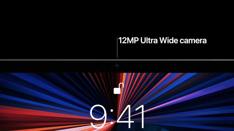 iPad Pro ultrawide camera