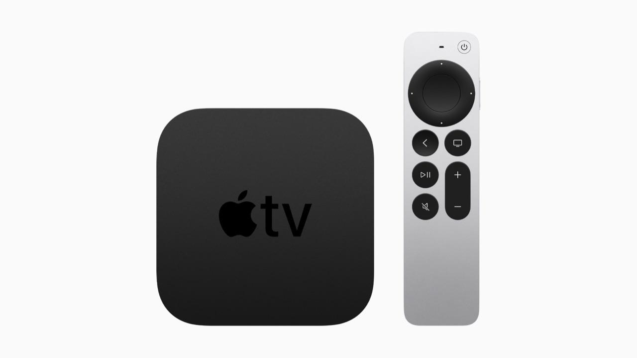 Apple TV 4K met Siri Remote 2021