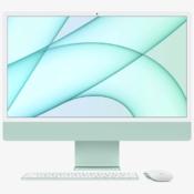 iMac 2021 blauw met accessoires