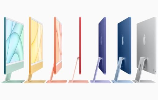 iMac 2021 kleuren
