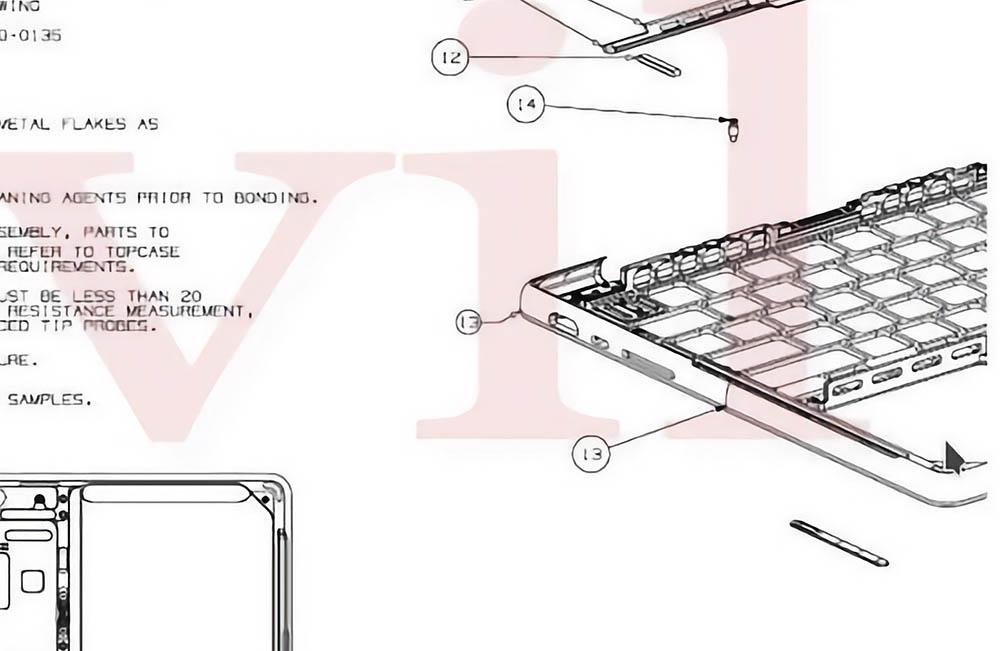 Tekening MacBook Pro