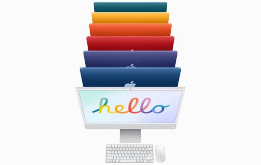 Hello screensaver op de Mac