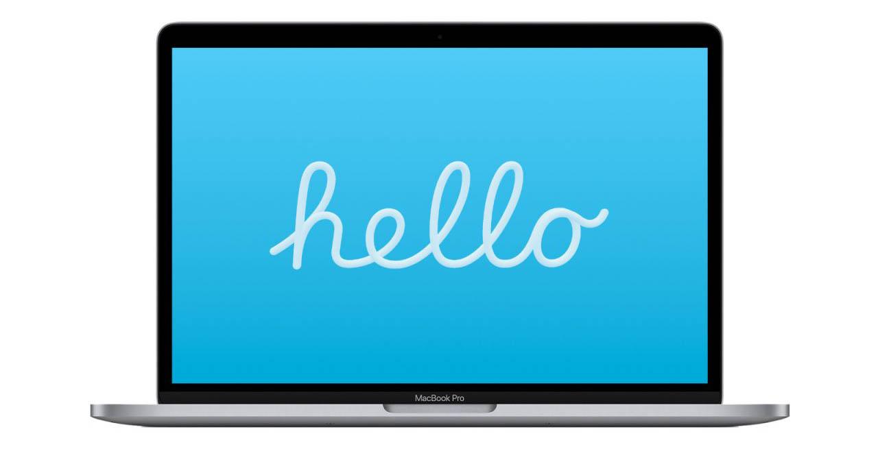 Hello screensaver
