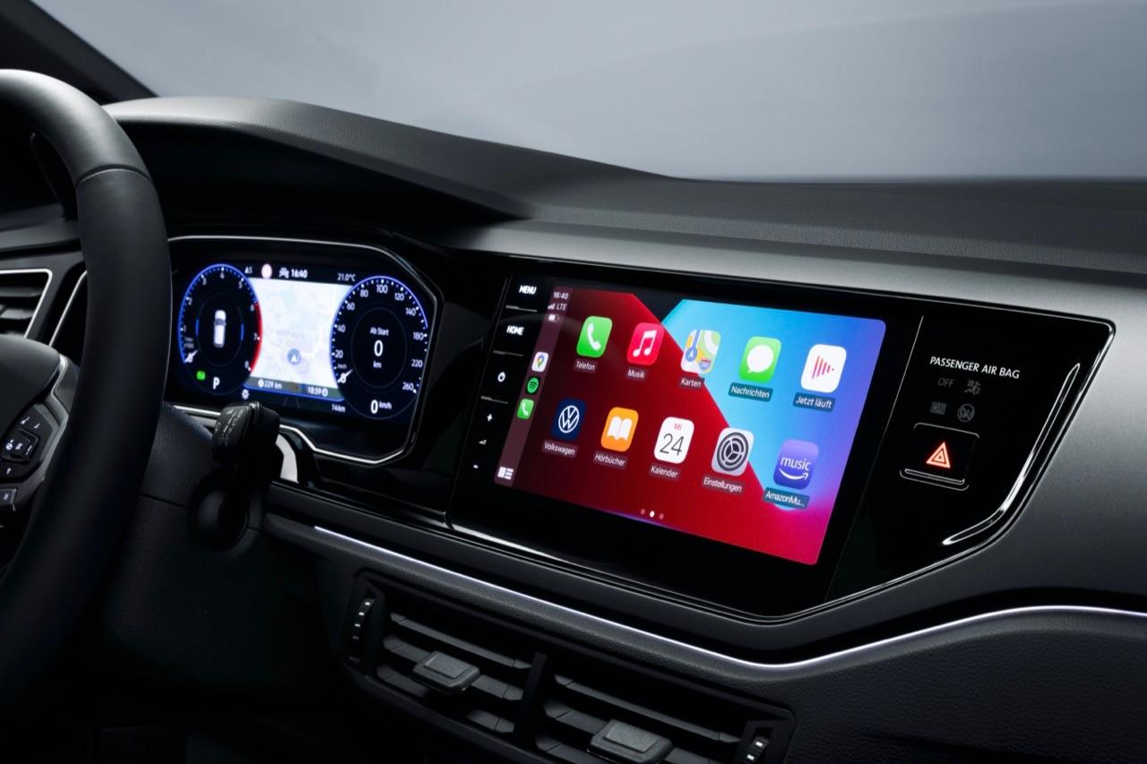 CarPlay in een 2021 Volkswagen Polo