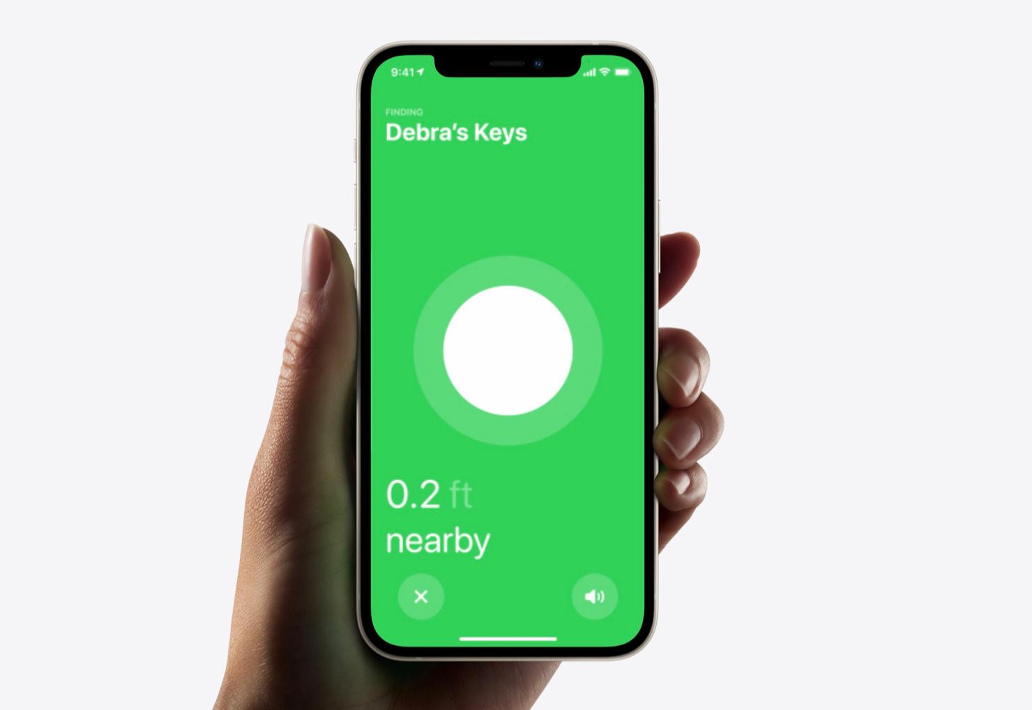 AirTag zoeken met iPhone