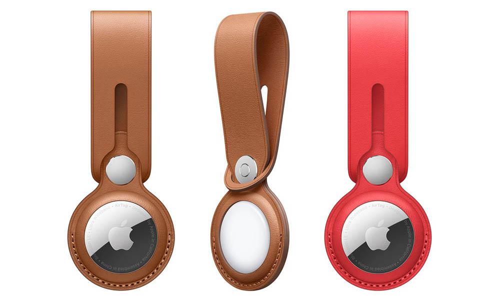 Apple leren AirTag hanger