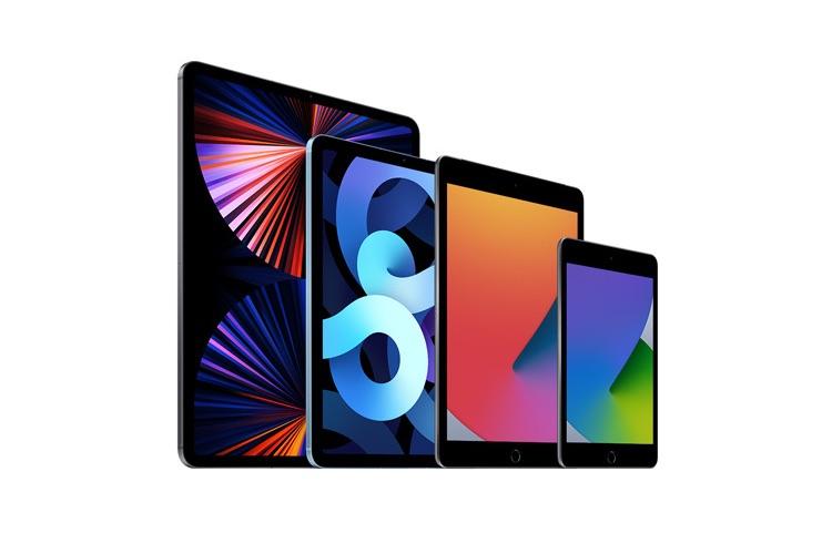 iPad vergelijken: 2021 modellen.