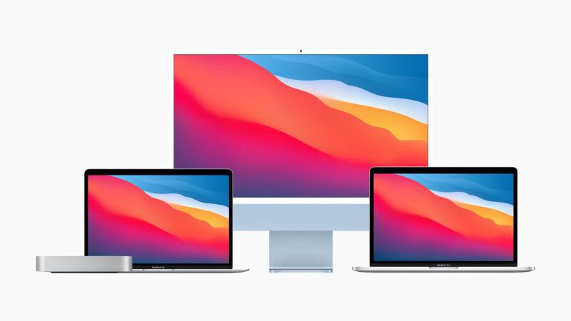 Apple Macs in voorjaar 2021