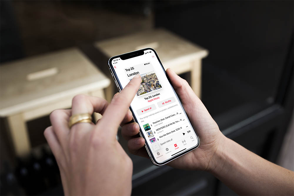 Apple Music lijsten per stad